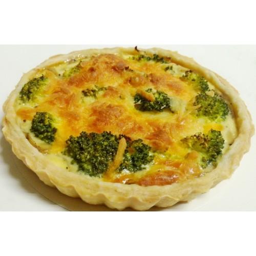 法式蔬菜鹹派-花椰鹹派